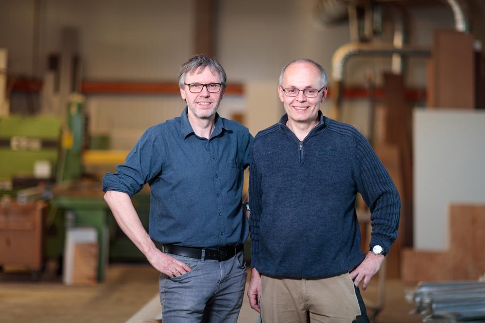 Tichlermeister Joachim & Bernhard Schlotböller